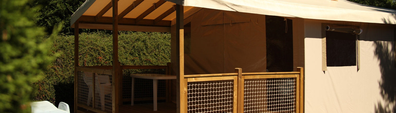 Rental of Ecolodge tents