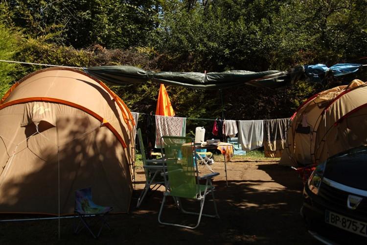 Emplacement camping en tente