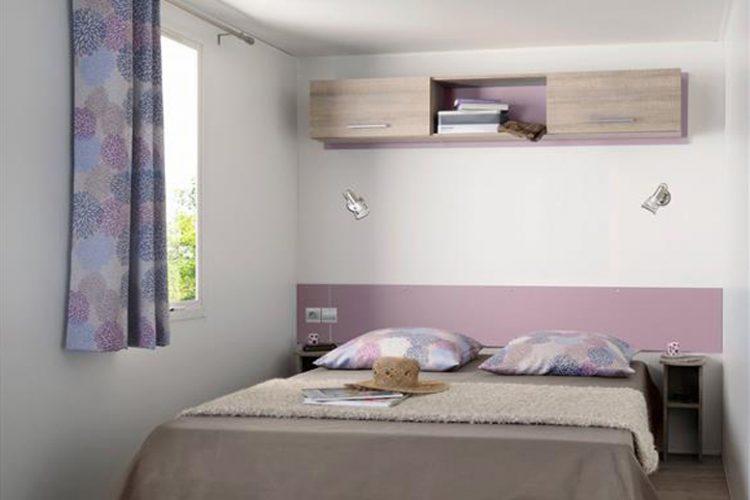 Mobil-home Cordelia grand chambre, Stacaravan Cordelia grote slaapkamer