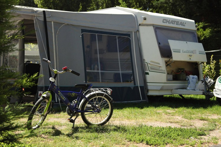 Luxury campsite pitches