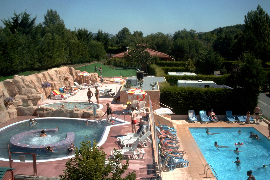 Nice ... A River; Heated Childrenu0027s Pool; Le Clos Auory Waterpark ...