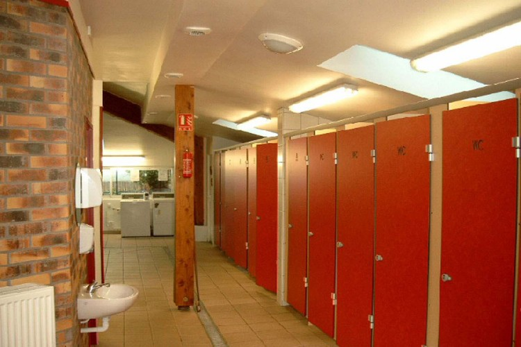 Luxury toilet blocks