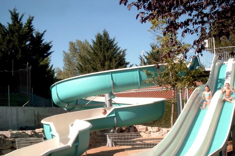 Toboggans aquatiques en Auvergne